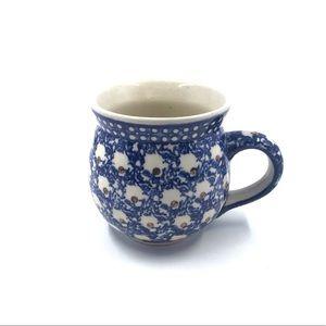 Boleslawiec Polish Pottery Handmade Bubble Mug